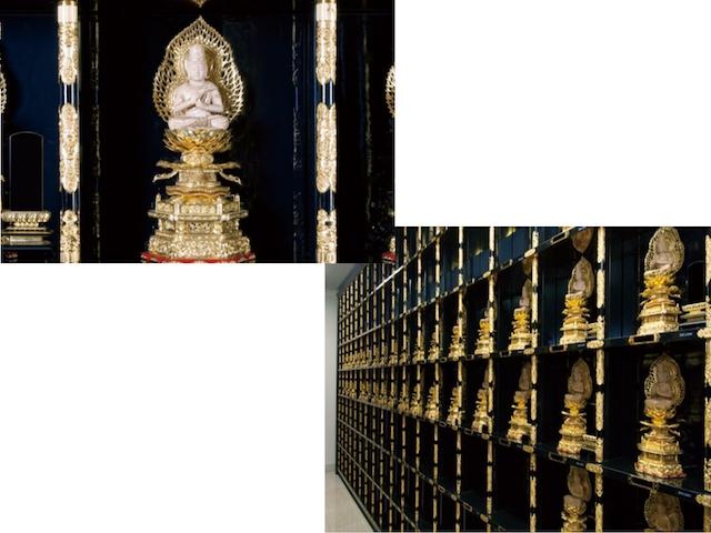 東福院 四ッ谷納骨堂-納骨堂-大日如来像付納骨壇(特別法要付) 永代供養墓