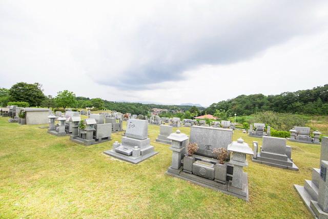 松江市公園墓地09