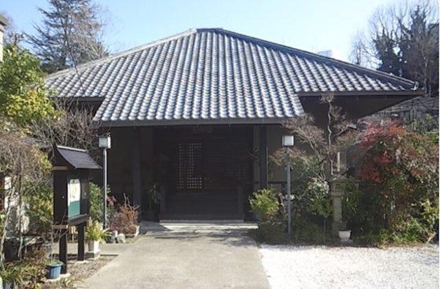 天王寺区正覚寺墓地(本堂)
