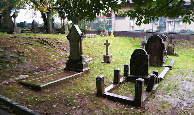 長崎市営坂本国際墓地02