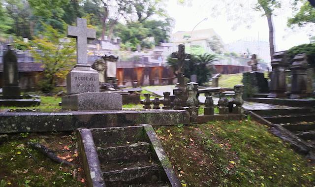 長崎市営坂本国際墓地01