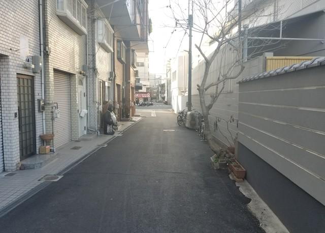 泰聖寺-寺院前通路