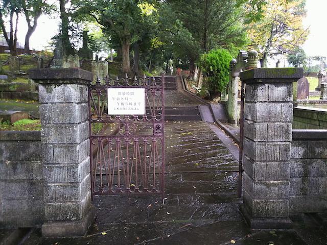 長崎市営坂本国際墓地04