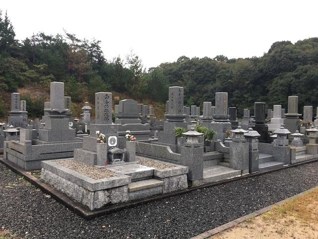白石公園墓地