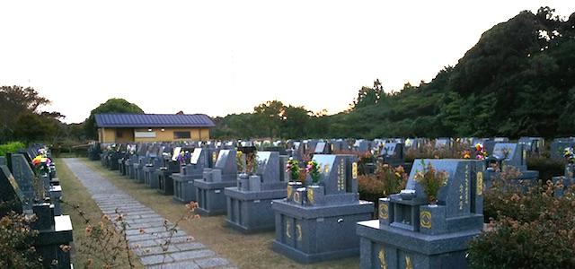 唐津市墓地公園06