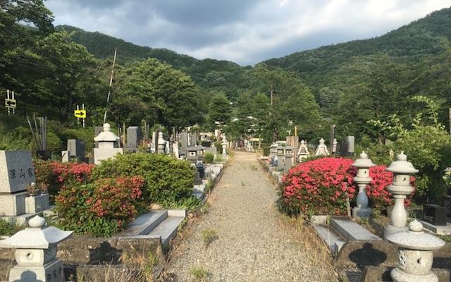 甲府市つつじが崎霊園03