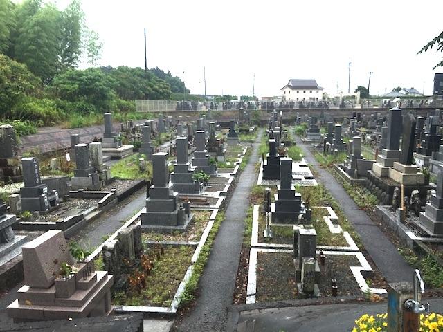 浜松市営 細江高台墓地01