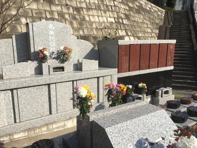 横浜日野墓苑桜の里永代供養墓供養塔