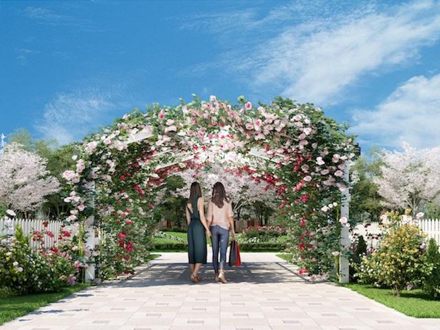 やすらぎの花の里_所沢西武霊園_霊園入口
