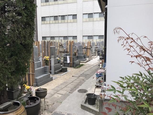 長久寺墓地−基本−寺院境内2