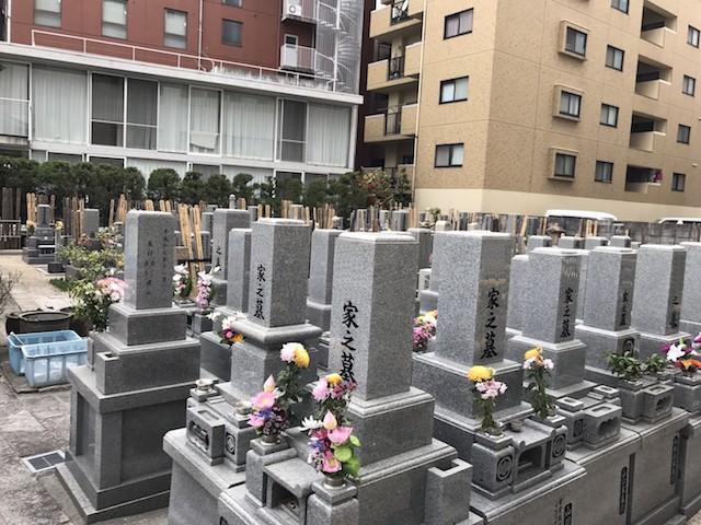 長久寺墓地−基本−霊園全体