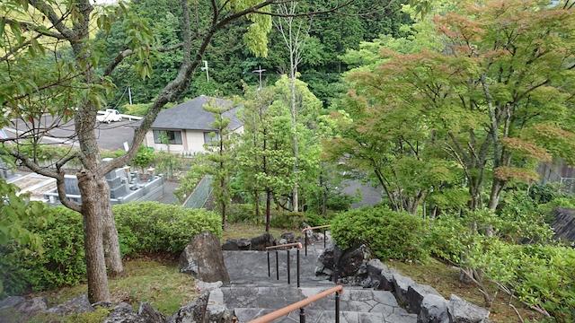 高槻霊園−庭園