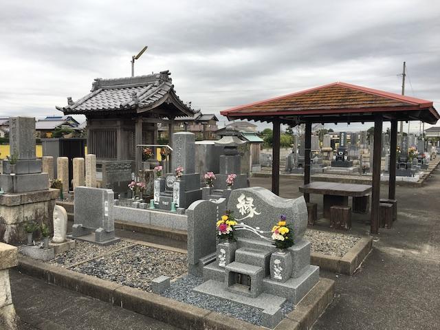 羽島市営 一色墓地_01