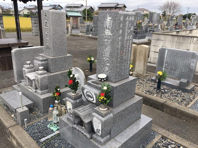 羽島市営 一色墓地_05