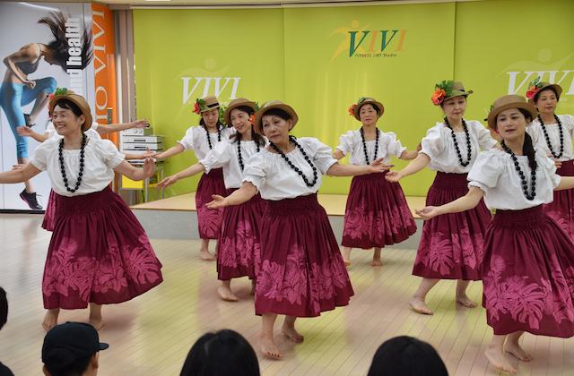 東戸塚スタジオVIVI_フラダンス