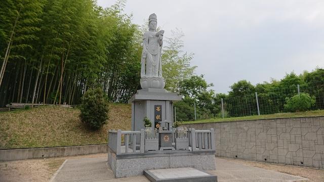 山田川霊園−観音様