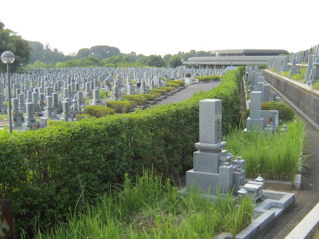 橿原市営香具山墓園−霊園01
