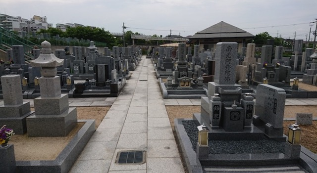 山田川霊園−霊園全体1
