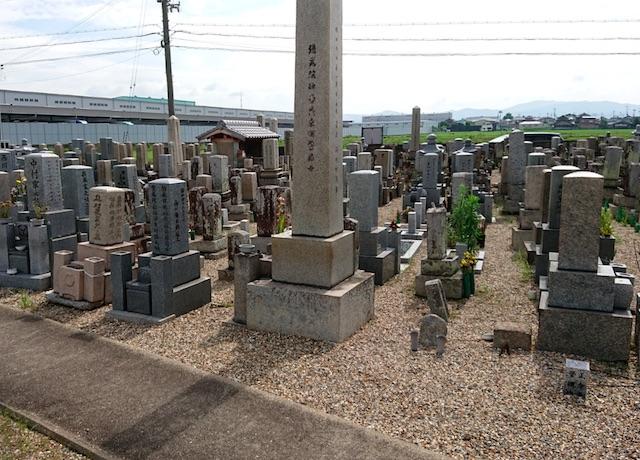 八幡市営隅田墓地−霊園全体01