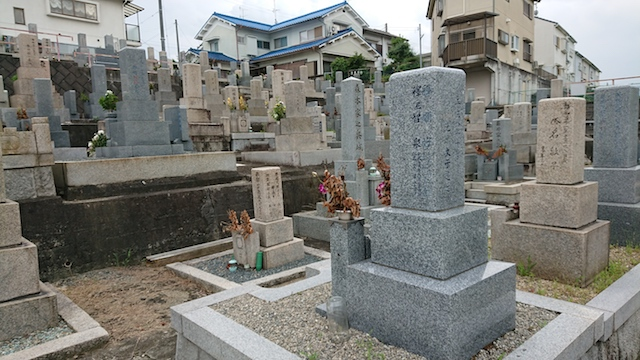 赤坂共同墓地-霊園7