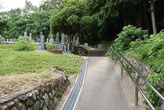 奈良市寺山霊苑-霊園入口