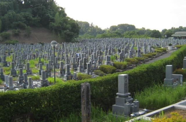 橿原市営香具山墓園−霊園全体02