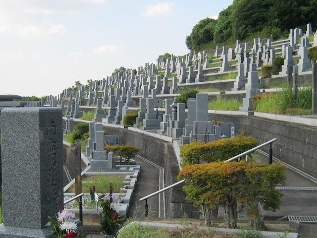 橿原市営香具山墓園−霊園全体03