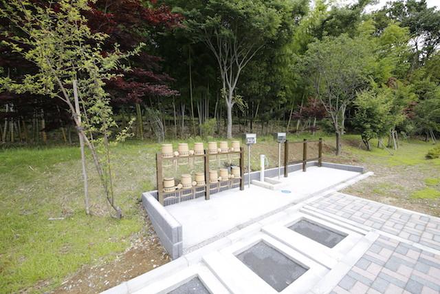 東京多摩霊園−水場