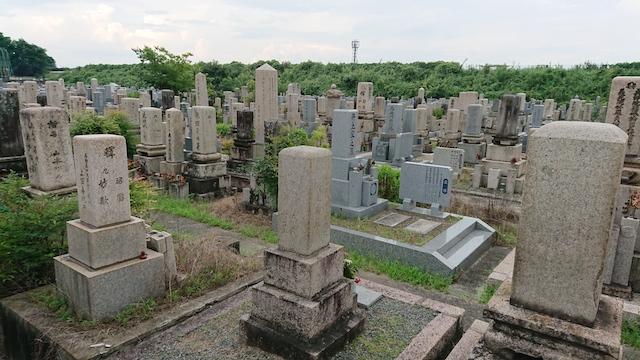 大和高田市営材木町市営墓地-霊園全体01