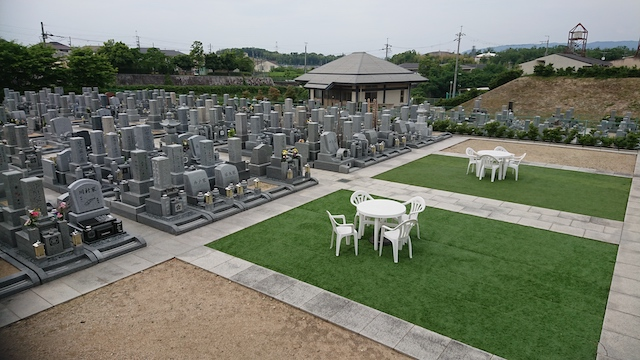 山田川霊園−霊園全体2