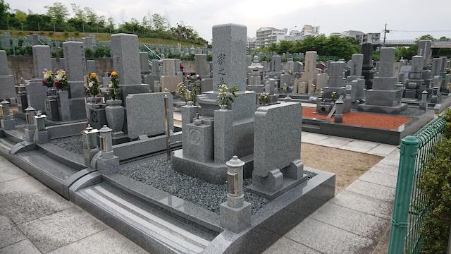山田川霊園−霊園3