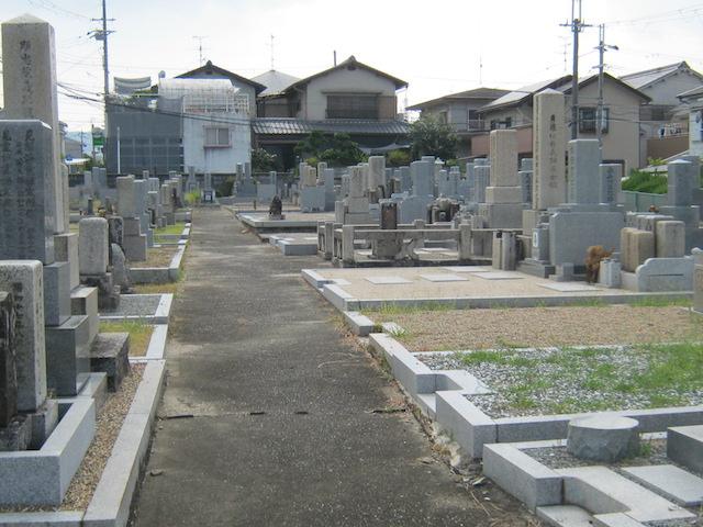 奈良市営七条町南山墓地−霊園4