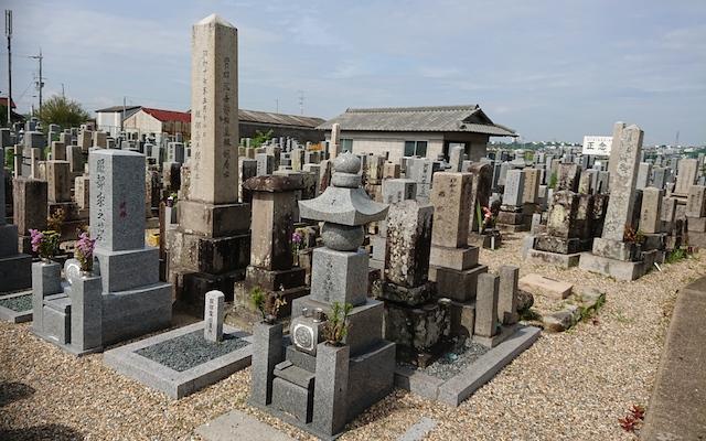 八幡市営隅田墓地−霊園3