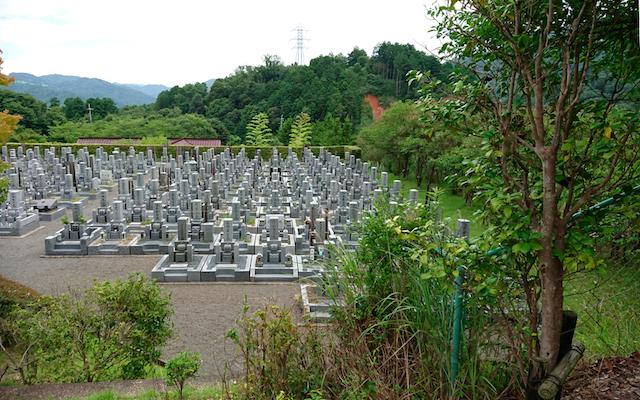 宇治市営天ヶ瀬墓地公園ー01