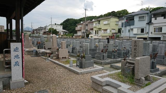 赤坂共同墓地-霊園全体
