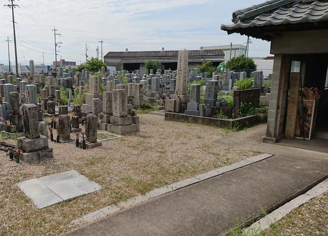 八幡市営隅田墓地−霊園5