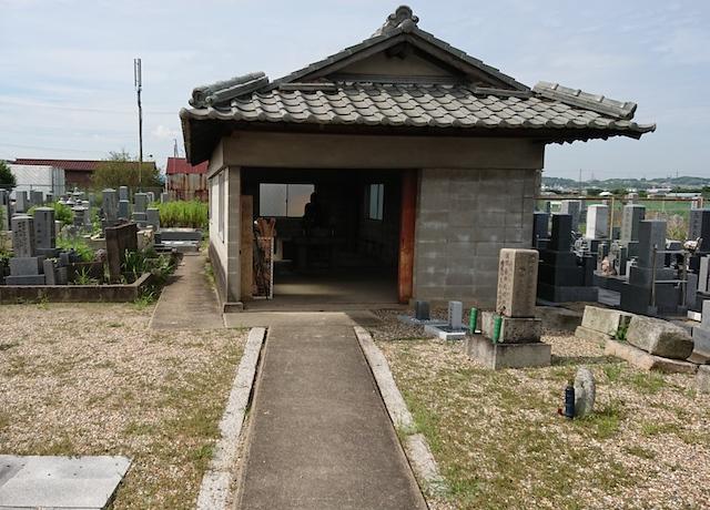 八幡市営隅田墓地−霊園4