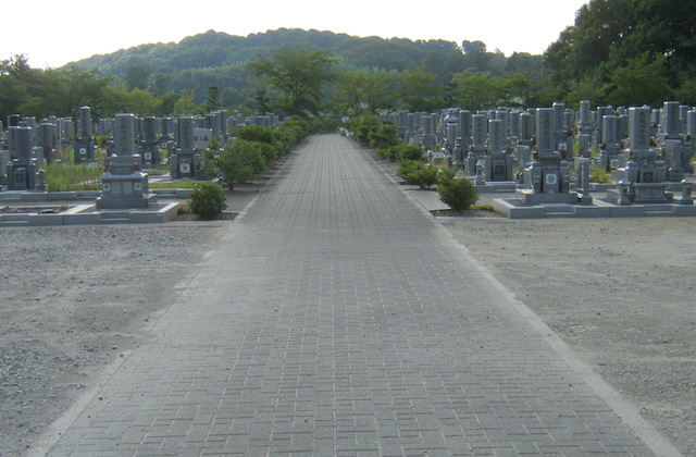 橿原市営香具山墓園−霊園全体01