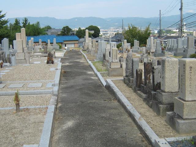 奈良市営七条町南山墓地−霊園全体
