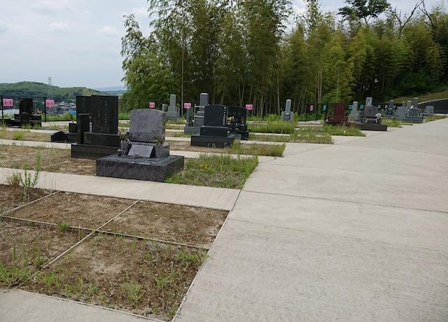 木津川市市営墓地 思いでの丘霊園−04
