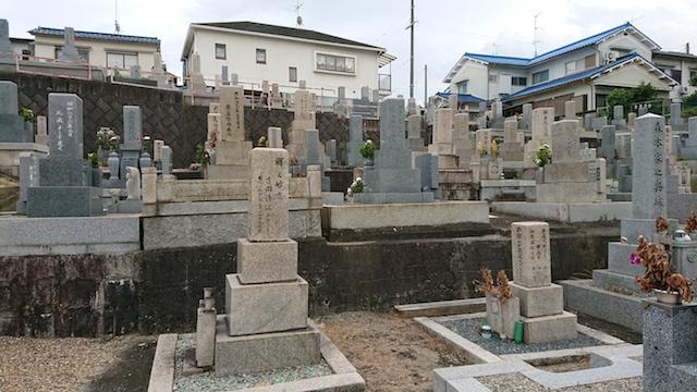 赤坂共同墓地-霊園6