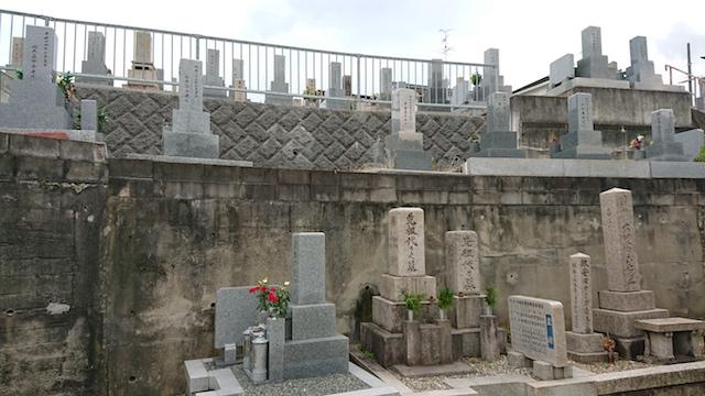赤坂共同墓地-霊園4