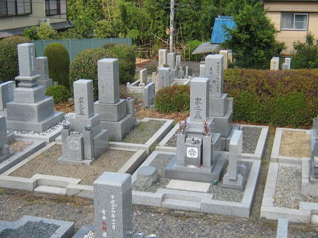 奈良市営七条町南山墓地−霊園3