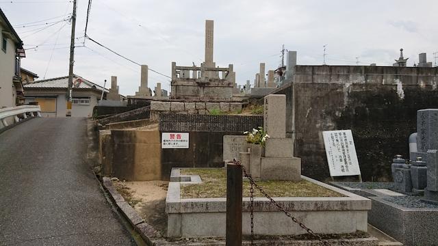 赤坂共同墓地-霊園2