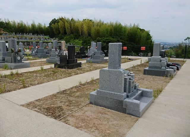 木津川市市営墓地 思いでの丘霊園−02