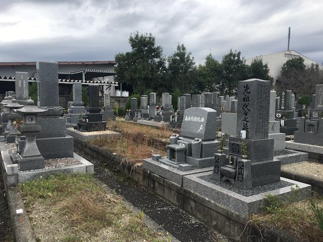 大野町営西墓地-園内全体
