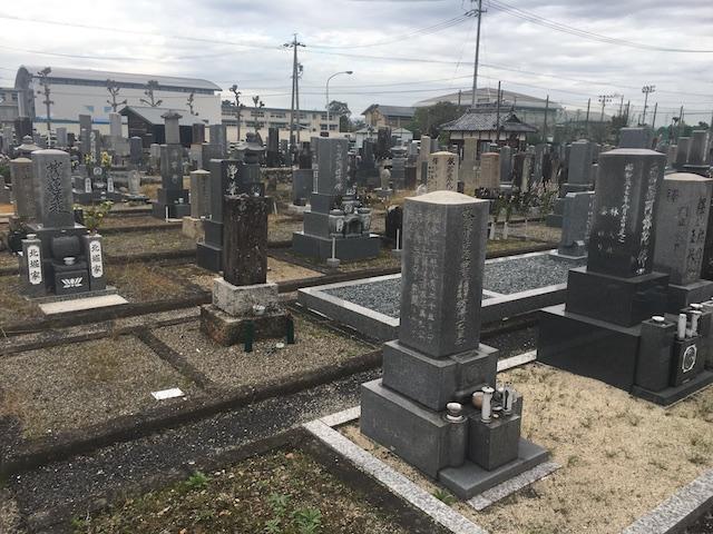 北方町営北方墓地-墓-通常区画