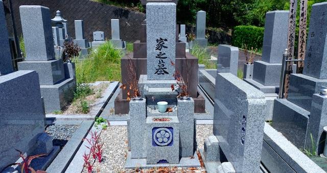 名張市営 東山霊園−霊園3