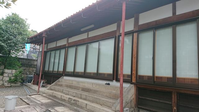西福寺霊園ー本堂