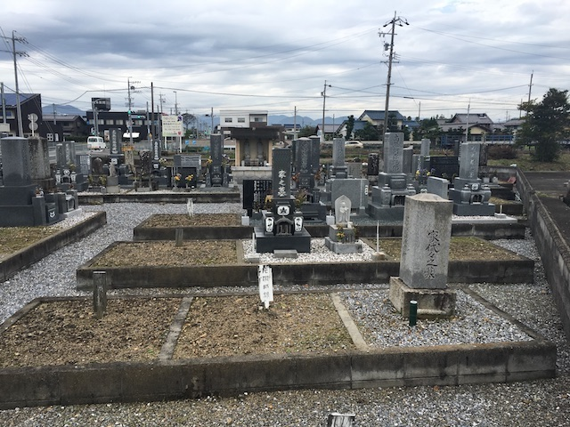 本巣市営住吉墓地-墓-通常区画